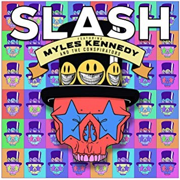 """Capa de """"Living the dream"""", disco de Slash com Myles Kennedy & The Conspirators"""