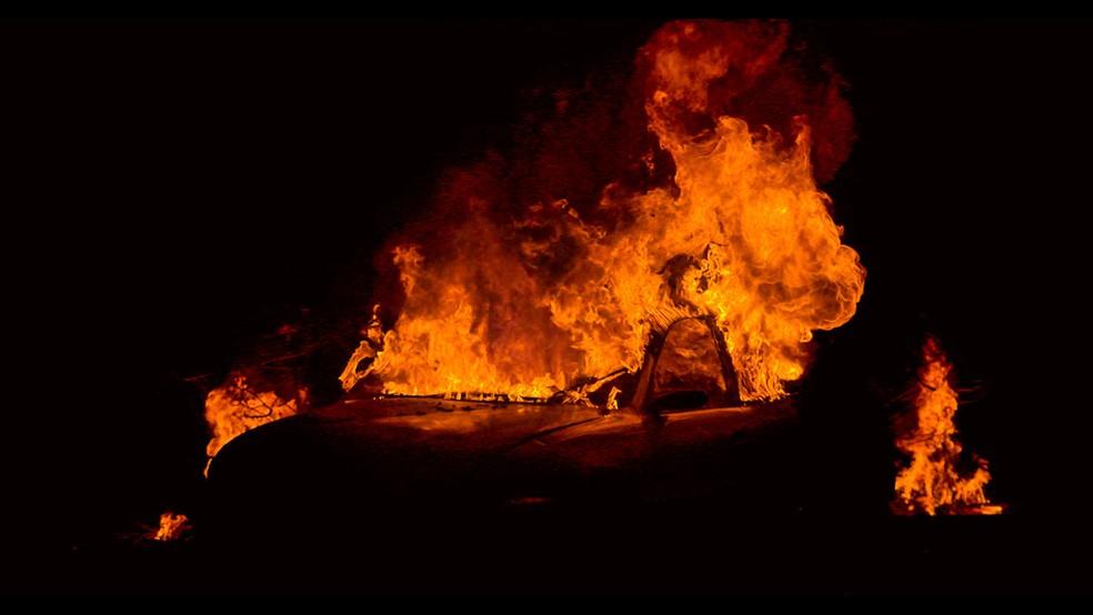 Documentário Paradise em Chamas conta história dos incêndios que atingiram a Califórnia em 2018 — Foto: Divulgação/Netflix