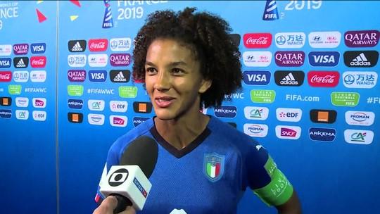 De 23 convocadas para a Copa do Mundo, 22 atuam na Itália e Seleção tem a primeira capitã negra da história