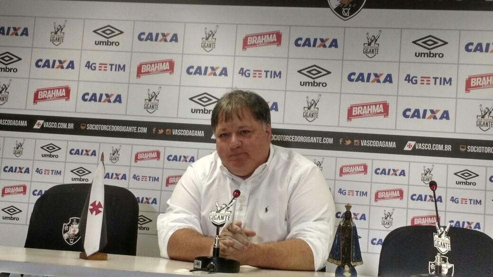 Anderson Barros atuava como gerente de futebol do Vasco desde dezembro de 2016 (Foto: Fred Huber)