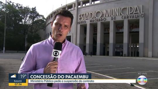 Ministério Público pede a suspensão do contrato de concessão do Pacaembu