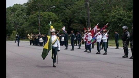 Cerimônia em Belém comemora 199 anos da Policia Militar do Pará