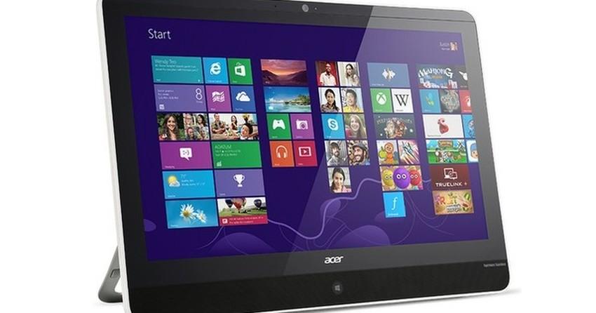 Acer lança All-in-One com Windows 8.1 e tela de 21,5 polegadas Full HD