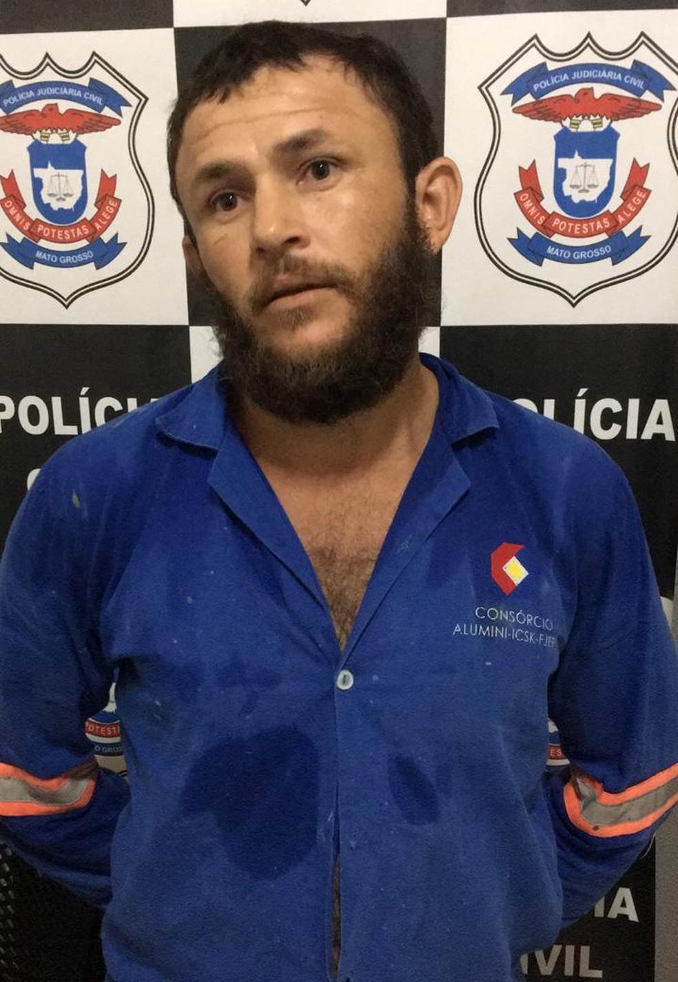 Carlos Sérgio Carvalho de Sousa estava foragido desde 2017 da Justiça do Maranhão e foi preso em Mato Grosso — Foto: Divulgação/Polícia Civil
