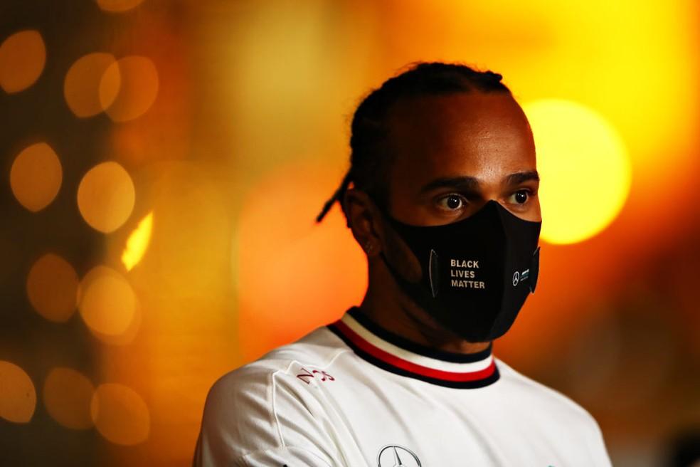 Lewis Hamilton é baixa para o GP de Sakhir — Foto: Mark Thompson/Getty Images