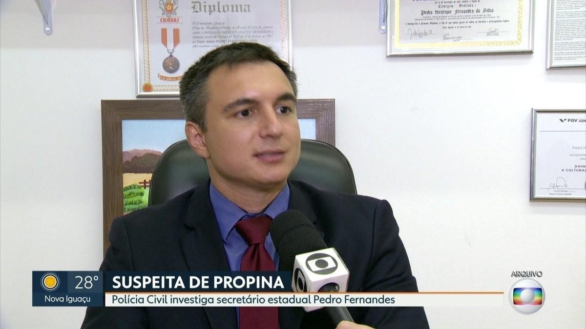 Polícia investiga secretário de Educação do RJ, Pedro Fernandes, por suspeita de recebimento de propina – G1