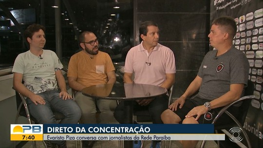 Direto da concentração: Piza fala sobre a primeira final do Botafogo-PB na Copa do Nordeste