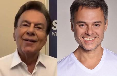 O cantor Agnaldo Rayol, outra figura frequente no programa de Hebe, é vivido pelo ator Frederico Reuter Divulgação