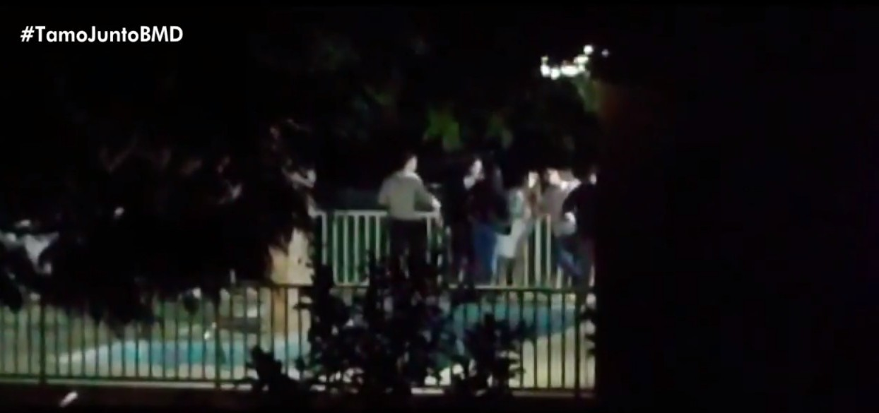 Polícia encerra festa clandestina com ao menos 100 pessoas em Vitória da Conquista