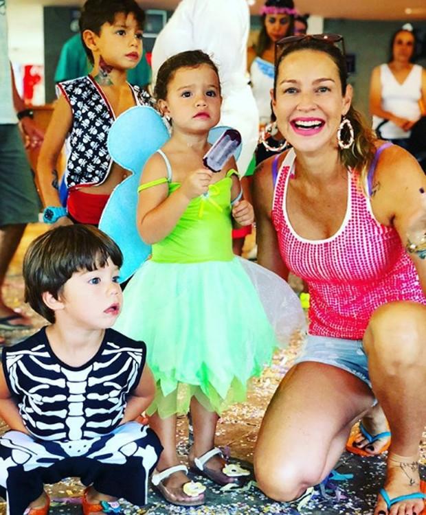 Bem, Dom, Liz e Luana Piovani (Foto: Reprodução/Instagram)