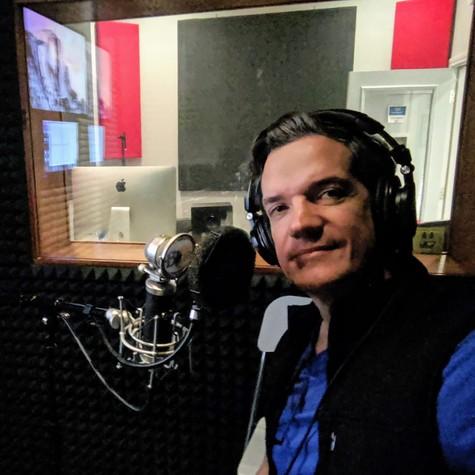 Carlos Machado participa como dublador na série 'O nome da rosa' (Foto: Arquivo pessoal)