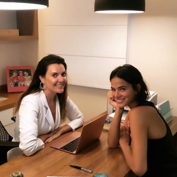 Patricia Davidson e Bruna Marquezine (Foto: Reprodução/Instagram)