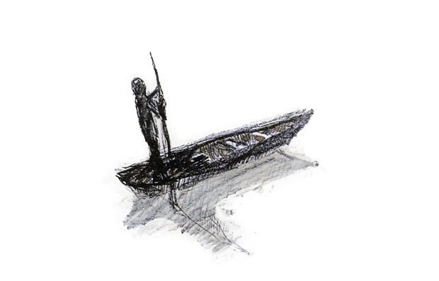 Texto e ilustrações de Odilon Moraes, Edições Olho de Vidro, R$ 49,90. A partir de 5 anos. (Foto: Reprodução)