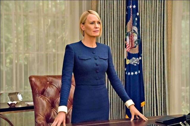 Robin Wright, a Claire de 'House of Cards' (Foto: David Giesbrecht/Netflix)