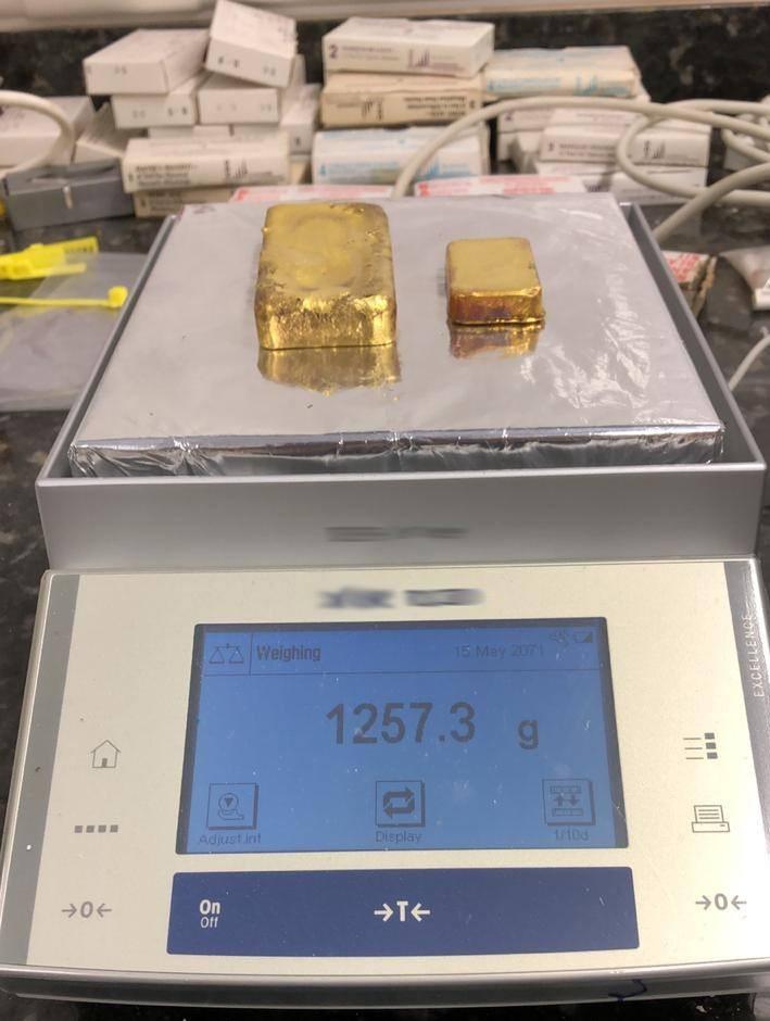 PRF detém casal com 1,2 kg em barras de ouro em rodovia de RR