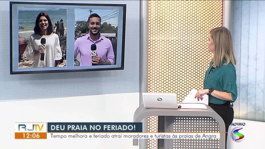 Turistas escolhem litoral e serra para curtir o feriado no Sul do Rio