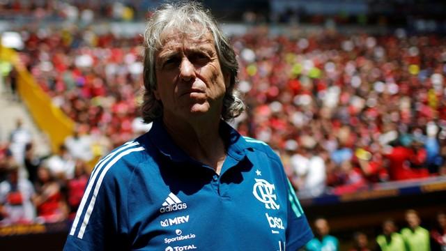 Jorge Jesus conquistou o terceiro título sob o comando do Flamengo
