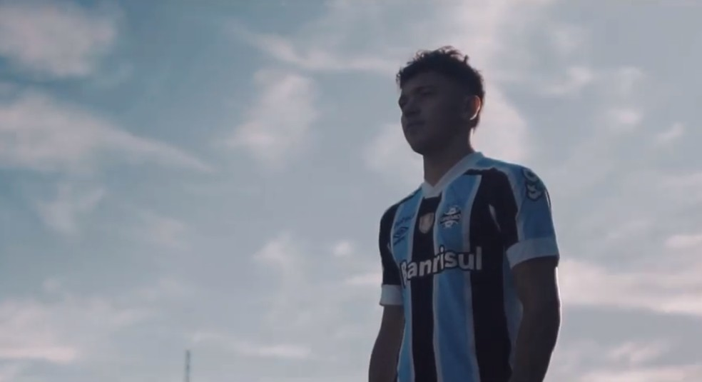 Pepê divulgou vídeo de despedida do Grêmio — Foto: Reprodução/Instagram Pepê
