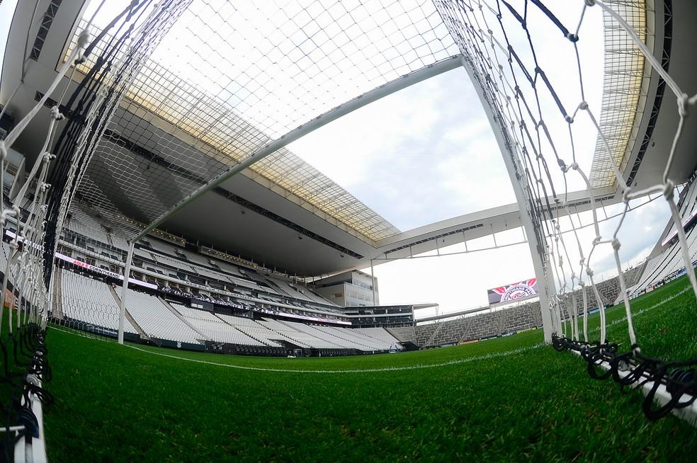 Arena Corinthians recebe o jogo deste domingo — Foto: BP Filmes