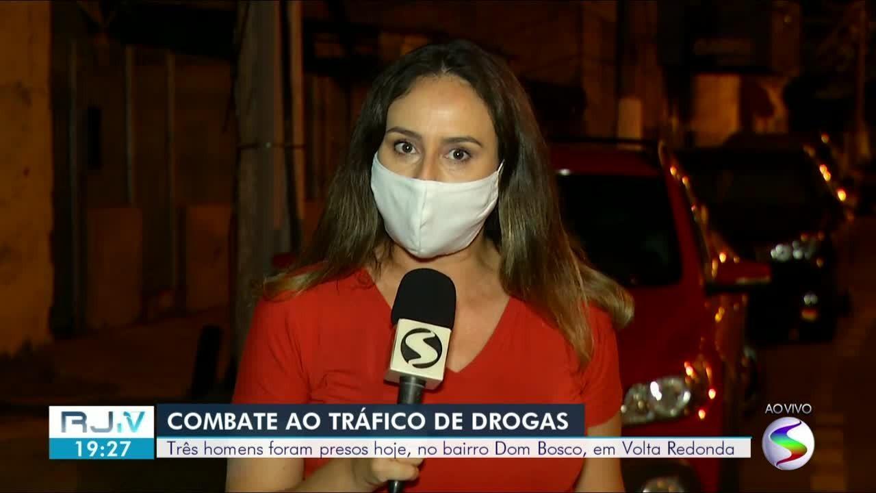 Polícia prende suspeitos de participar de 'guerra' entre Volta Redonda e Barra do Piraí