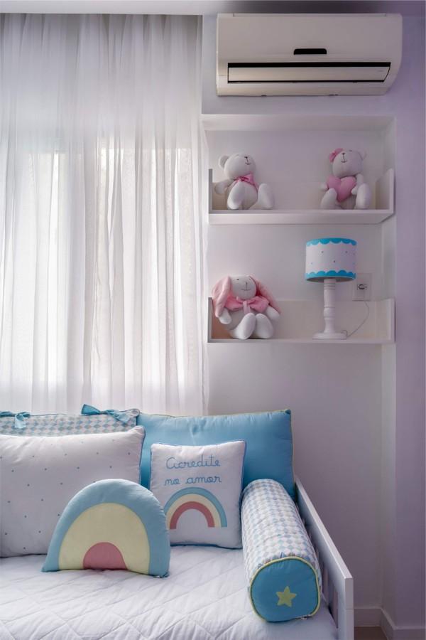 Maytê Piragibe mostra nova decoração do quarto da filha (Foto: Lília Mendel Fotografia/Divulgação)