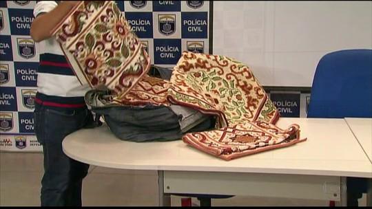 Polícia tem ajuda de pai de suspeito para recuperar tapetes roubados de associação de artesãs em PE