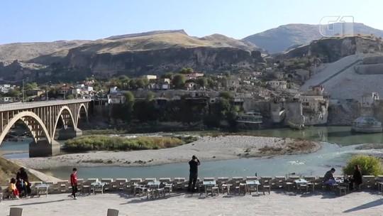 Cidade na Turquia ficará debaixo d'água em alguns meses