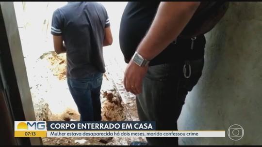 Marido confessa ter matado e enterrado a mulher no quintal de casa em Governador Valadares