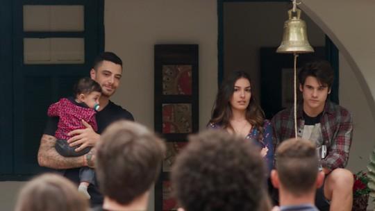 Samurai faz Luciana e Rodrigo entregarem que estão juntos
