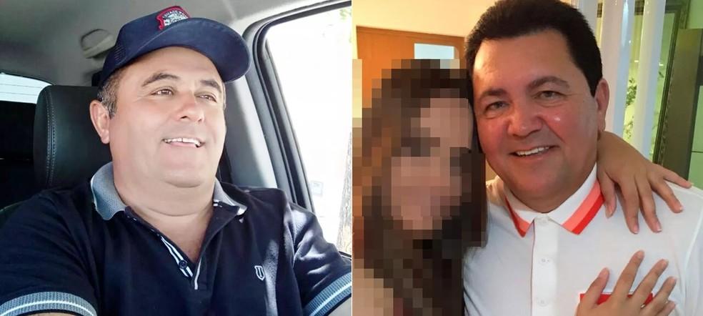 Paulo Itácio Câmara e Robério Gurgel — Foto: Arquivo pessoal