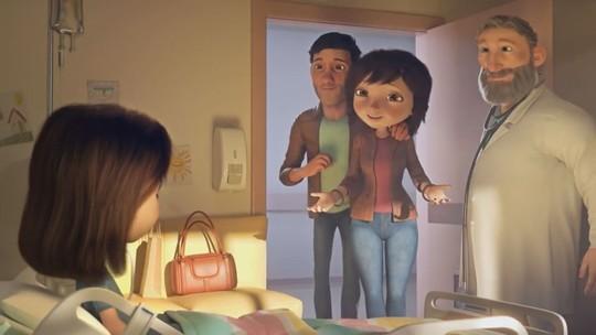 Vídeo com animação de menina em tratamento contra o câncer comove a internet; veja