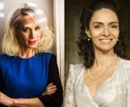 Mariana Ximenes e Claudia Ohana: casal em filme | Fabio Seixo/OGlobo e Cynthia Salles/TV Globo
