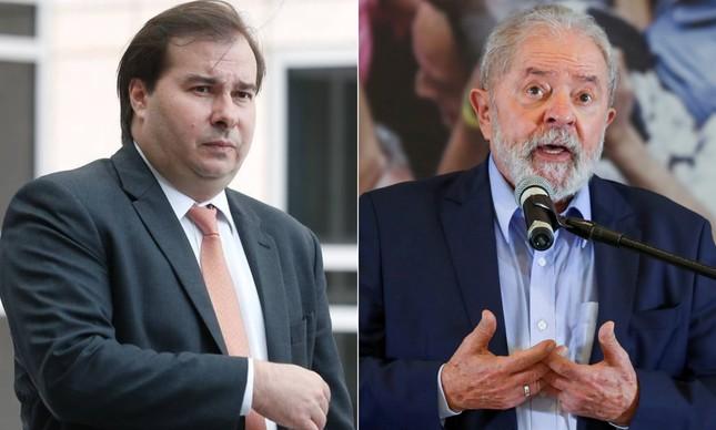 Maia, expulso do DEM na última segunda-feira, se colocou à disposição para ajudar no programa de governo e nas articulações de Lula na eleição presidencial de 2022