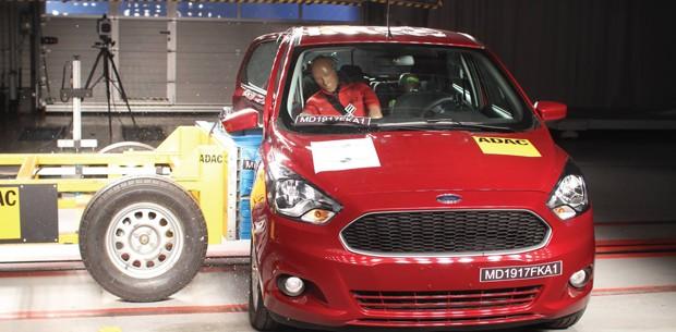 Ford Ka Latin Ncap (Foto: Divulgação)