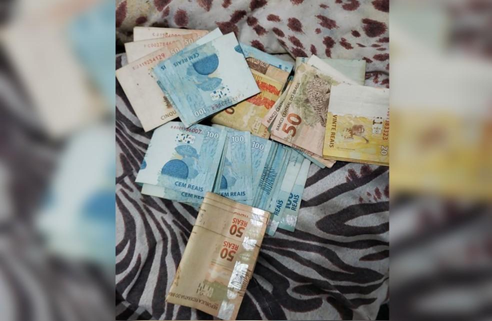 Dinheiro apreendido na operação Welfare — Foto: Divulgação