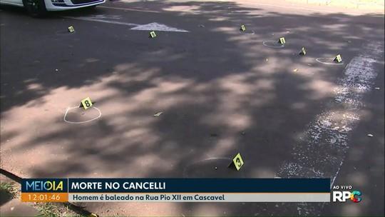 Homem é morto a tiros em Cascavel