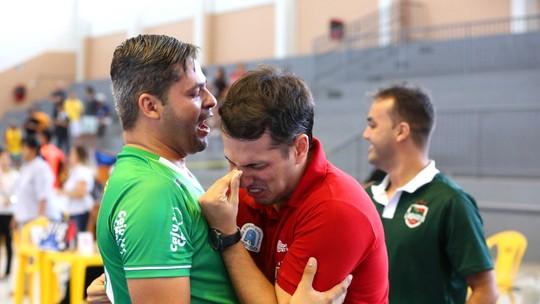 Emocionado, Davi Mendonça dedica título da Copa à família