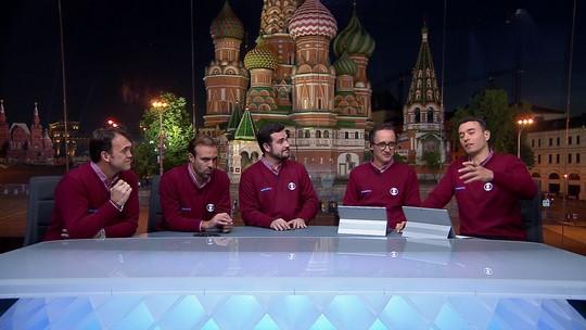 """Comentaristas ressaltam surpresa com Croácia na final: """"Ninguém botou no bolão"""""""