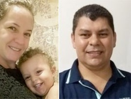 Após tentar reatar, PM mata a ex e o filho e se suicida em SC (Reprodução/Facebook)