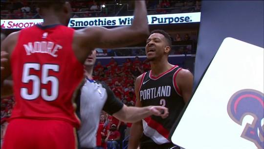 Confusão, show de tocos e enterrada incrível de Westbrook na rodada da NBA