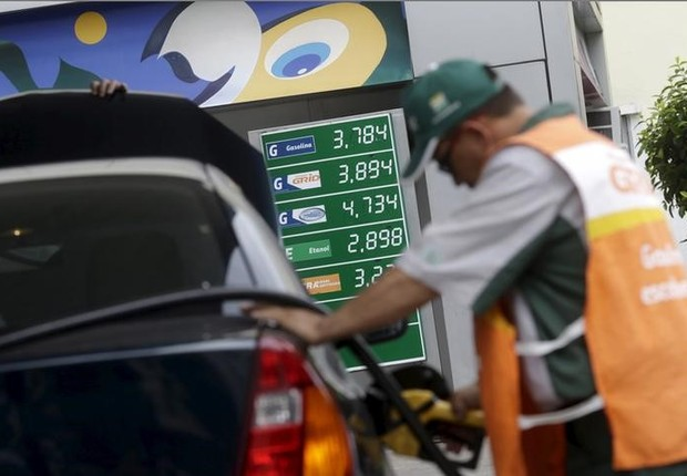 Resultado de imagem para Petrobras anuncia aumento de 1,07% para gasolina; o segundo do mês]