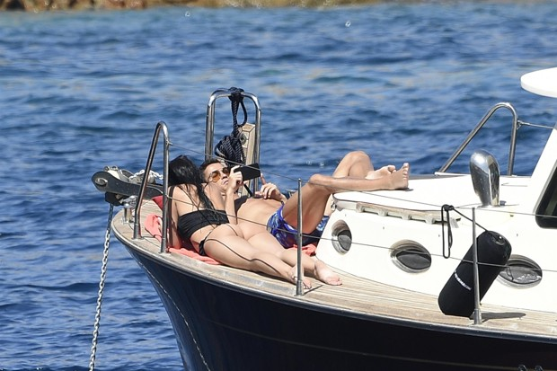 Cristiano Ronaldo e Georgina Rodriguez (Foto: BACKGRID)