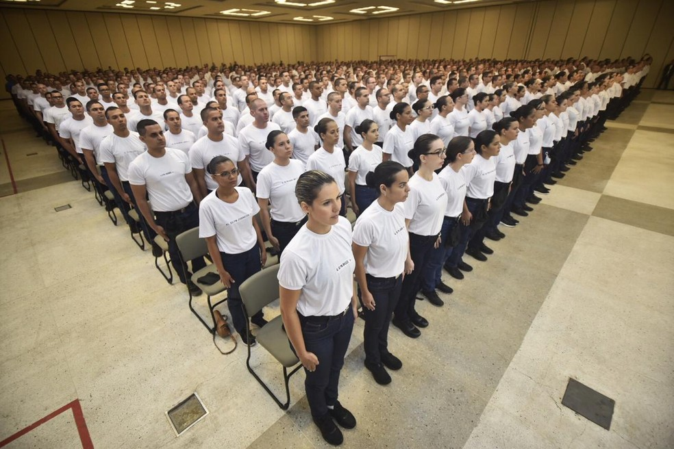 Curso de formação dos primeiros candidatos convocados começou em janeiro de 2020. — Foto: Elisa Elsie