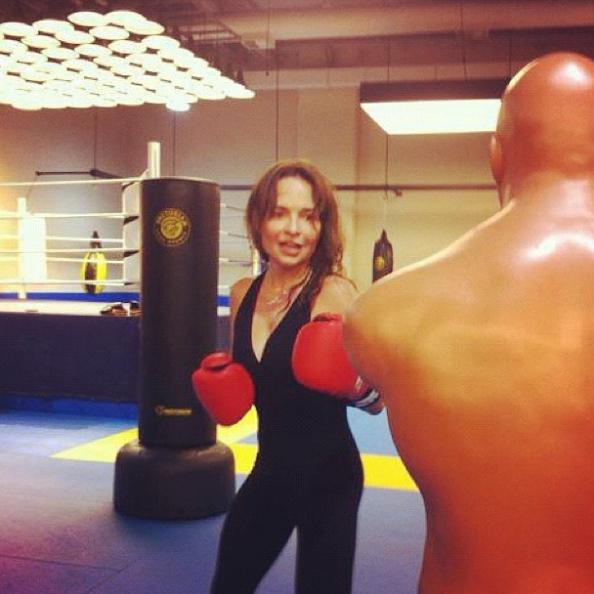 Luiza Tomé sempre praticou esportes (Foto: Reprodução / Instagram)