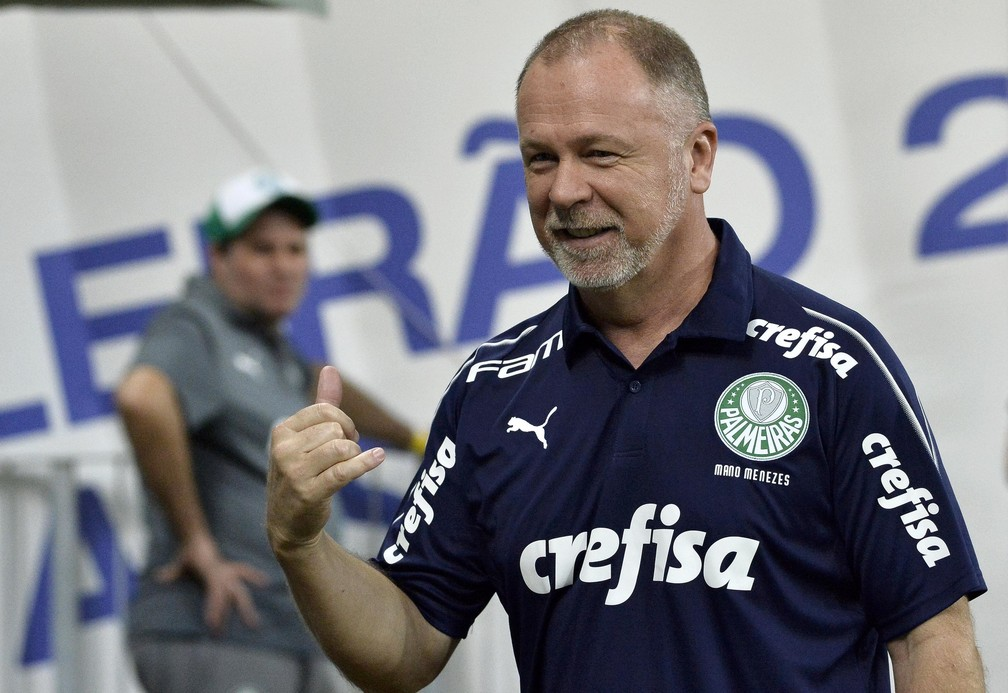 Mano Menezes - Palmeiras x Fluminense — Foto: Marcos Ribolli