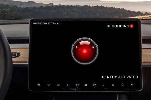 Tesla Sentry Mode (Foto: Divulgação)