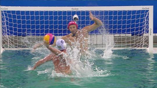 """Craque do polo aquático, Grummy aposta em ouro do Brasil no Pan: """"Tenho bronze e prata, falta uma"""""""
