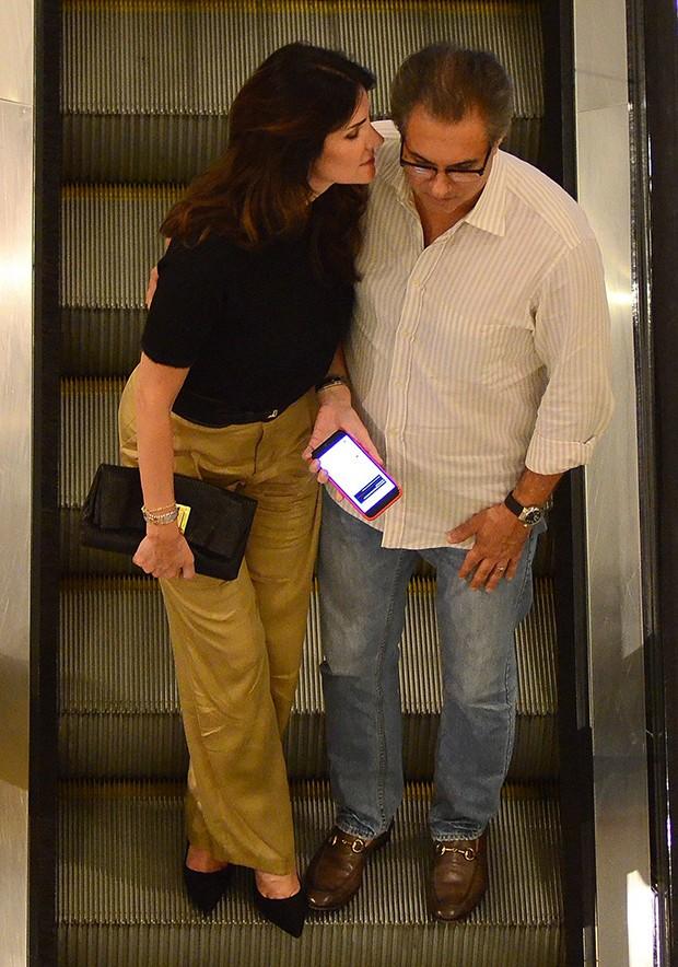 Lisandra Souto e Gustavo Fernandes (Foto: AgNews)