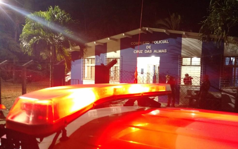 Caso está sendo investigado pela delegacia territorial de Cruz das Almas — Foto: Paulo Galvão/SSP-BA