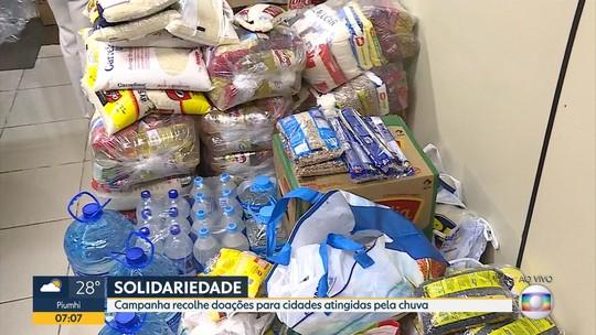 Servas mantém campanha para levar doações a cidades atingidas pela chuva